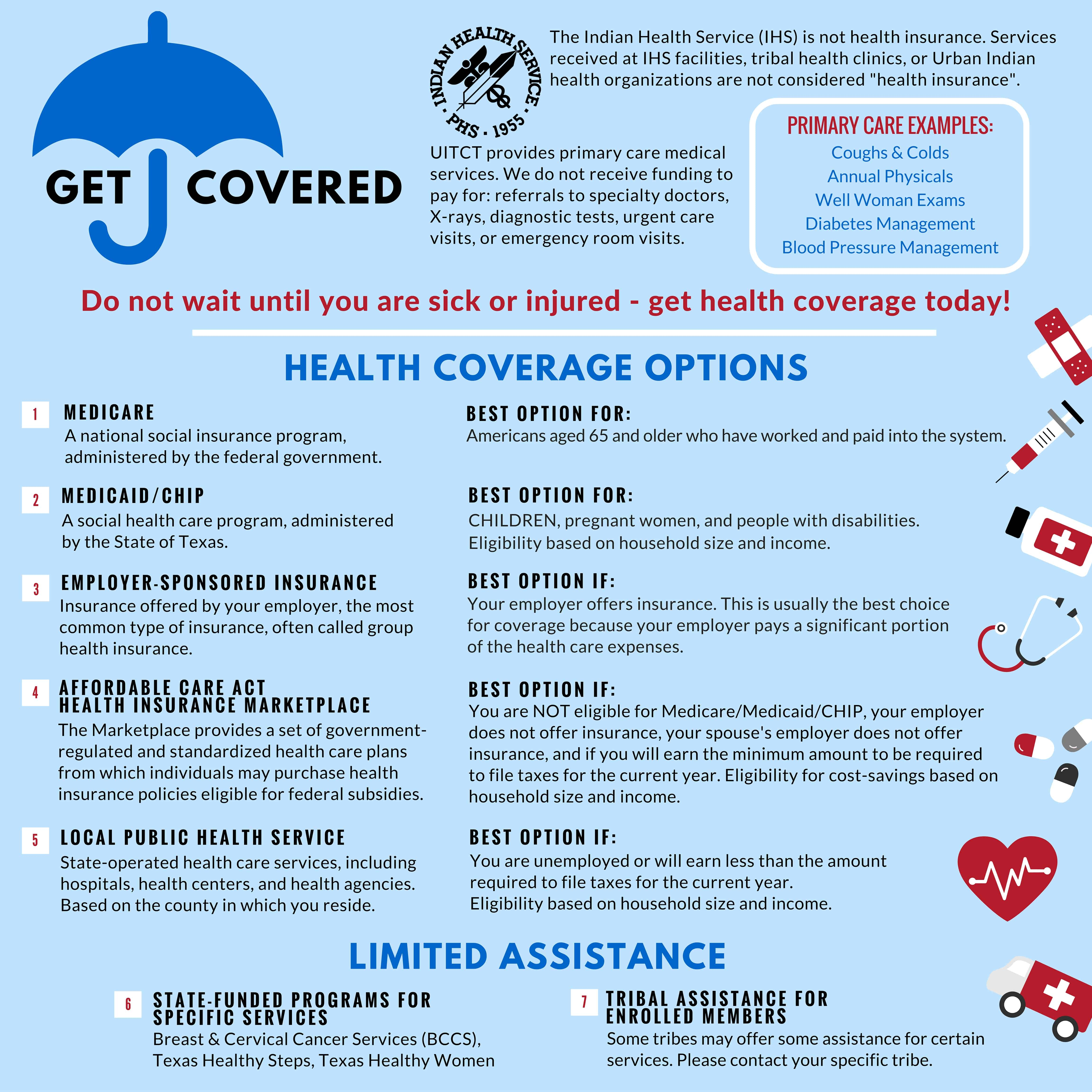 UITCT Health Coverage Poster